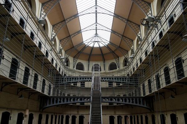 dublin kilmainham goal jail prison west wing aile ouest panopticon