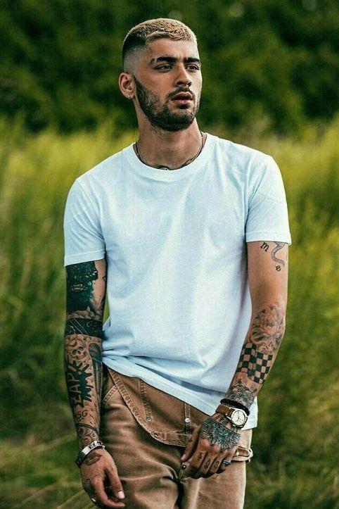 Zayn Malik Forearm Tattoo