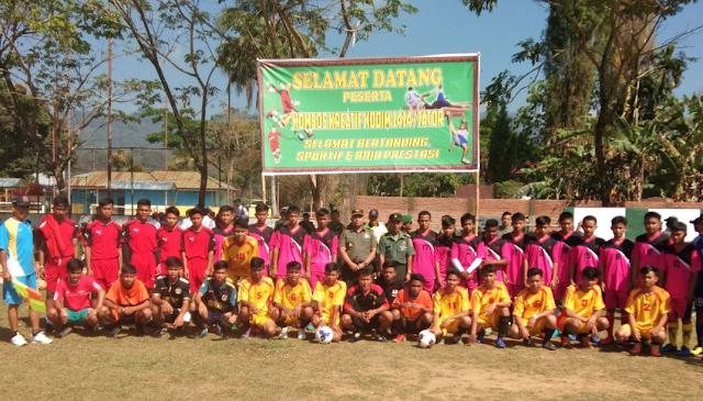 Kembangkan Kreatifitas Generasi Muda, Kodim 1414 Tana Toraja Gelar Lomba Bidang Olahraga