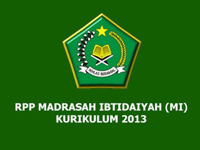 RPP Bahasa Arab MI Kelas 1 Kurikulum 2013