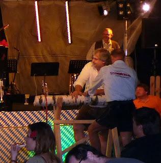 Concurso leñadores - Oktoberfest Calpe