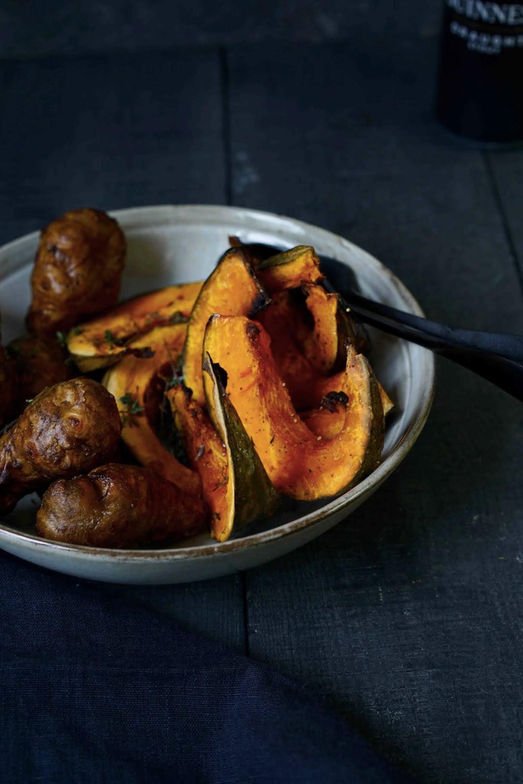 recette facile à préparer , cuisine facile , légumes d'hiver , potimarron , topinambours