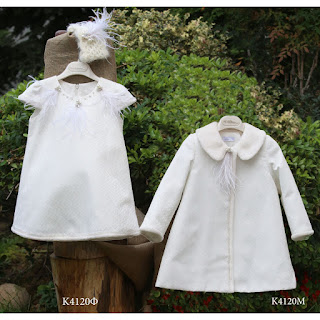 christening clothes for winter baptism for girl