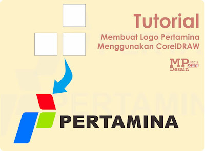Tutorial Membuat Logo PT Pertamina Menggunakan CorelDRAW