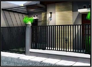 9 Model Desain Pagar Rumah Minimalis Anda Yang Keren
