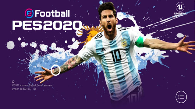 Download PES 2020 Mobile Android New Patch Original Logos And Kits Best Graphics