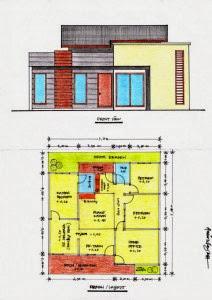 Desain Rumah Minimalis 12 X 15 Tipe 180