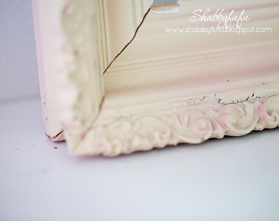 french pink picture frame