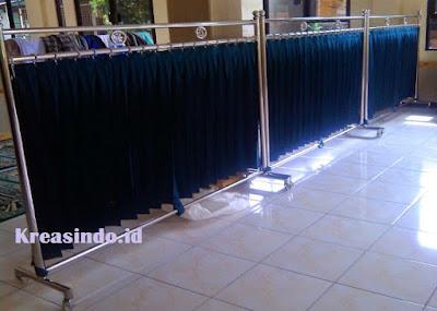 Jasa Hijab Masjid Stainless di Jakarta dan sekitarnya
