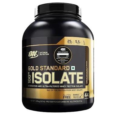 ON (Optimum Nutrition) Gold Standard 100% Isolate, 3 lb