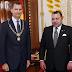 في عز الأزمة الدبلوماسية.. صاحب الجلالة الملك محمد السادس يتوصل ببرقية تهنئة من عاهل إسبانيا