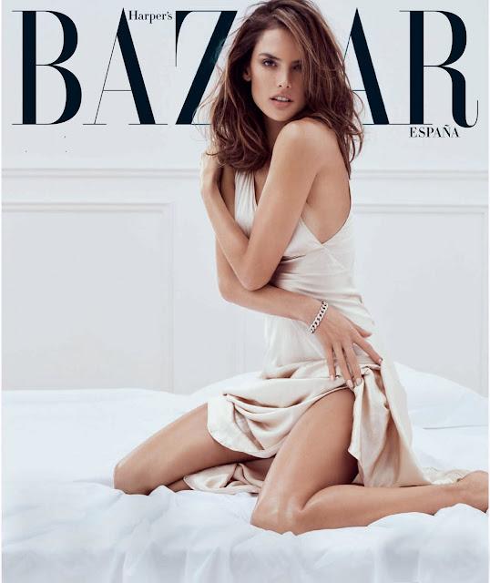 Actress, Model, @ Alessandra Ambrosio - Harper's Bazaar Spain, May 2016