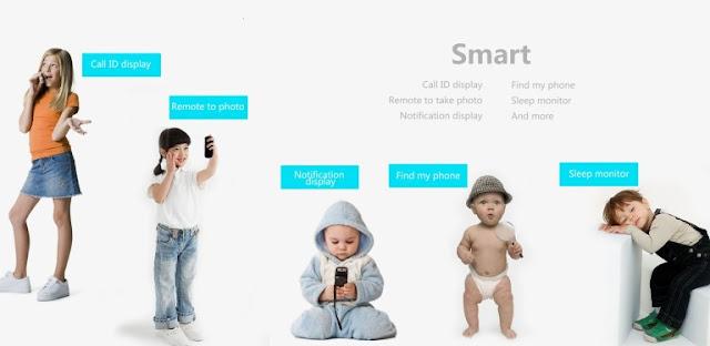 i5 Plus Bluetooth Smart Fitness Band Menu and Navigation Options