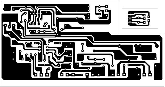 Membuat gitar amplifre Clone IBANEZ GTA layout
