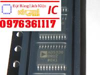 IC AD5330 chuyển đổi ADC 8 bit