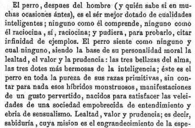 Fragmento de la carta publicada en El Campo