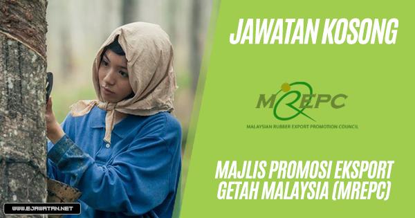 jawatan kosong Majlis Promosi Eksport Getah Malaysia (MREPC) 2019
