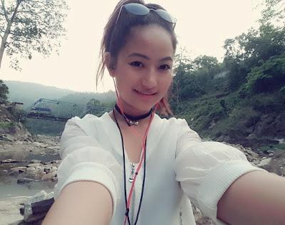 Melina Rai Nepali Singer Actress  attractive