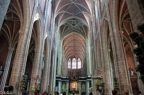 Catedral de Gante en Belgica
