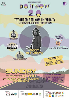 WEBSITE PROUDLY PRESENT, TRY OUT SMB Telkom University 2018