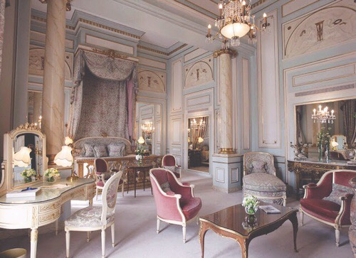 Coco Chanel Suite Hotel Ritz Paris