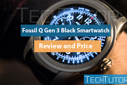 Fossil Q Gen 3 Black Smartwatch - Review and Price