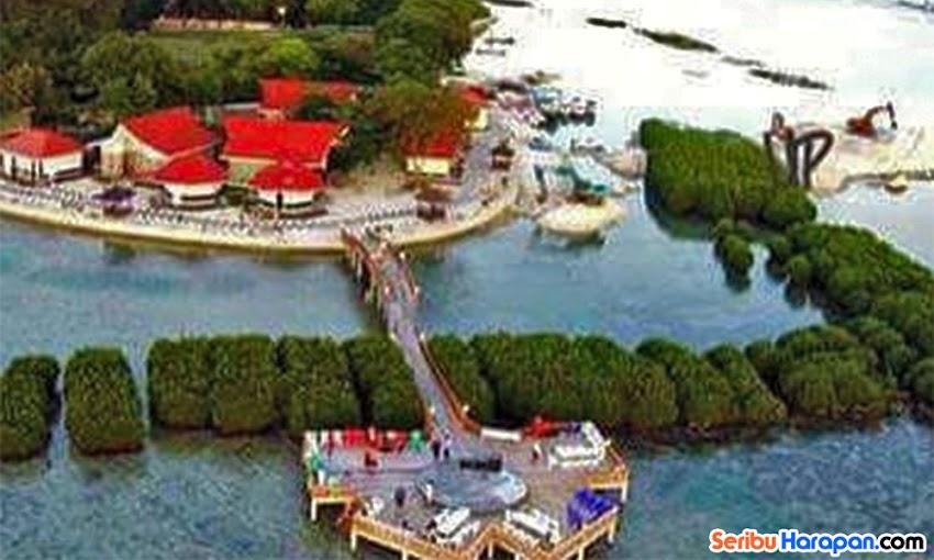wisata pulau kelapa royal island resort dan cottage