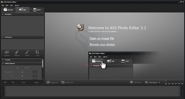 برنامج AVS Photo Editor