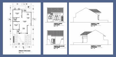 840 Foto Desain Rumah Type 36 Luas Tanah 84 Yang Bisa Anda Contoh Download