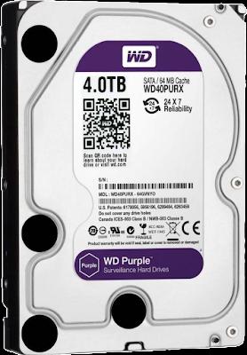 WD Hard Drive purple Color Code