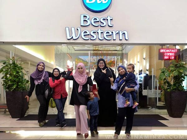 Berbuka puasa di temani Sang Aladdin dan lampu berkelipan di Best Western I-City,Shah Alam.