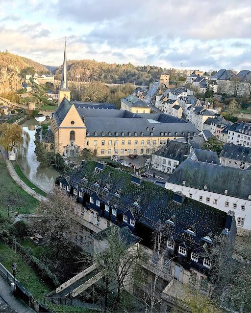 passeggiata romantica in lussemburgo