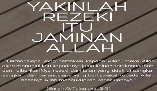 Pintu dan Jalan Rezeki Menurut Quran