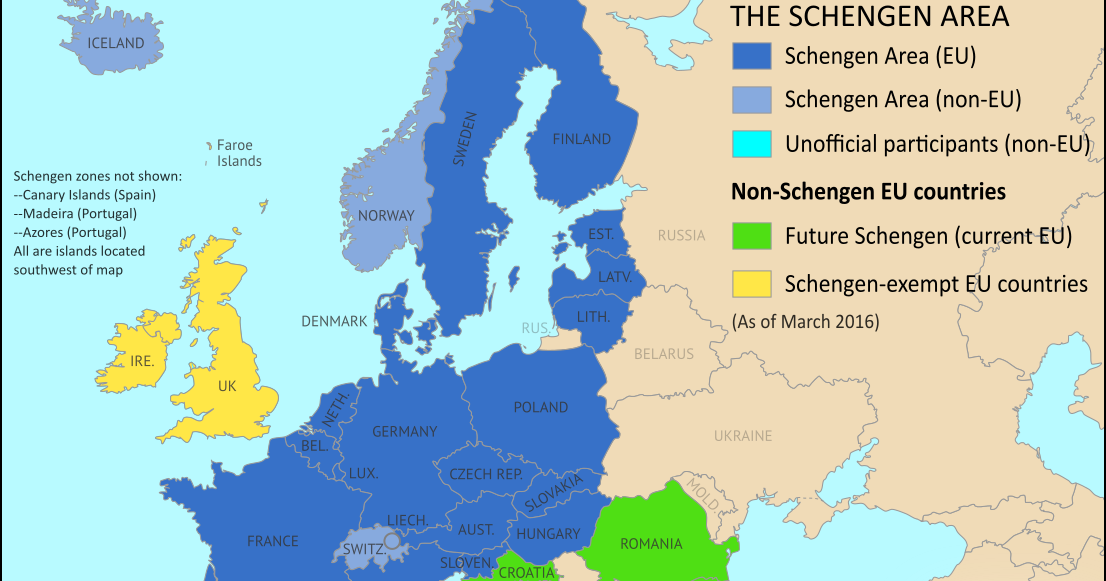 Map of the Schengen Area, Europe's Border-free Travel Zone ... Schengen Country Map on france country map, new zealand country map, israel country map, spain country map, schengen information system, iceland country map, eea family permit, ireland country map, passport stamp, russia country map, australia country map, eu country map, italy country map, canada country map, belgium country map, austria country map, border control, portugal country map, schengen agreement, europe country map, romania country map, usa country map, singapore country map, thailand country map, czech republic country map,