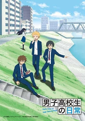 Descargar Danshi Koukousei no Nichijou (12/12) HD Sub Español Por Mega.