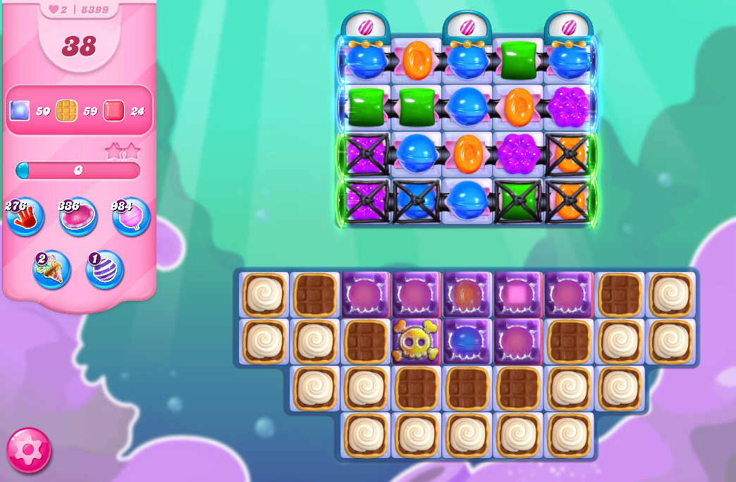 Candy Crush Saga level 8399