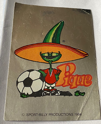 Pique Panini Mexico 86 Sticker