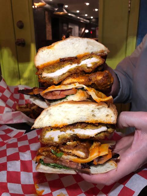 Fried Chicken Sandwich Chicago