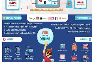 Pelatihan Digital Marketing MQ Training