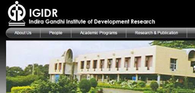 Indira Gandhi Institute of Development Research