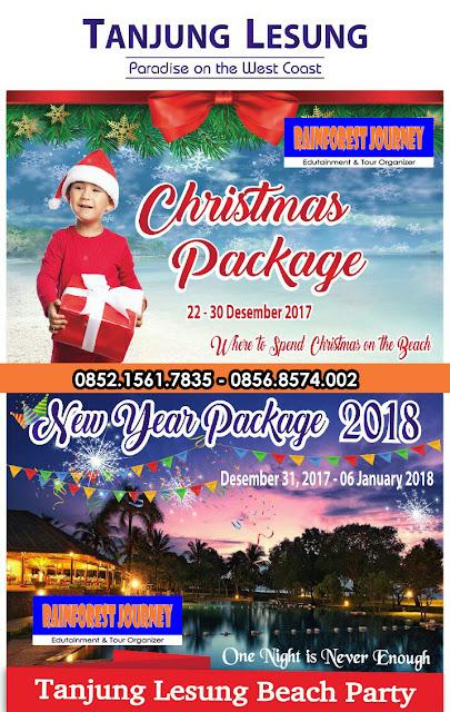 Harga Natal dan Tahun Baru 2018 Tanjung Lesung