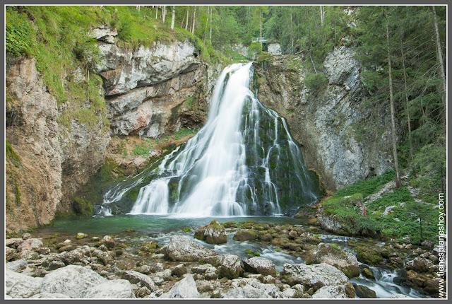 Cascadas de Golling (Austria)