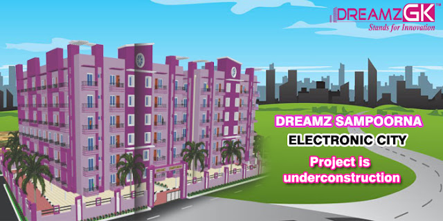 under construction project in electronic city