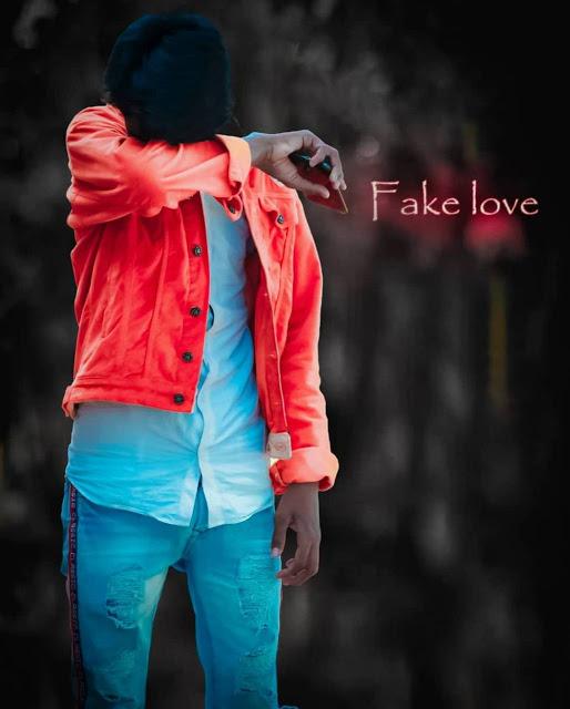 fake love wallpaper boy sad ladka image