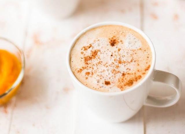 Dairy-Free Pumpkin Spice Latte #drinks #latte