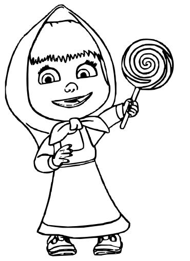 Cositas Entretenidas Y Faciles De Hacer Dibujos De Masha Y El Oso