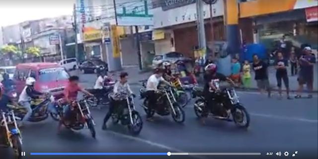 Netizen Geram! Para Geng Motor ini Seenaknya Balapan di Jalan Raya Hadang Ratusan Kendaraan