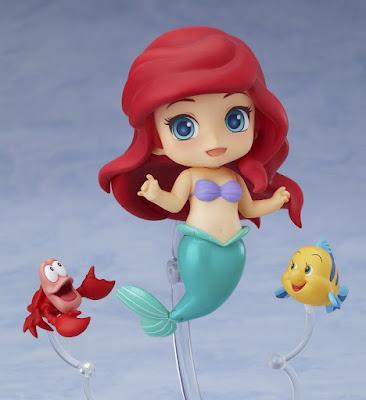 """Imágenes del Nendoroid de Ariel de """"La sirenita"""" - Good Smile Company"""