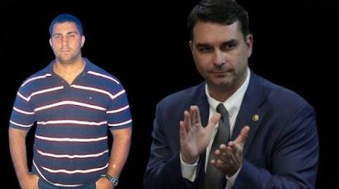 Moro não incluí na lista de procurados, miliciano amigo de Flávio Bolsonaro
