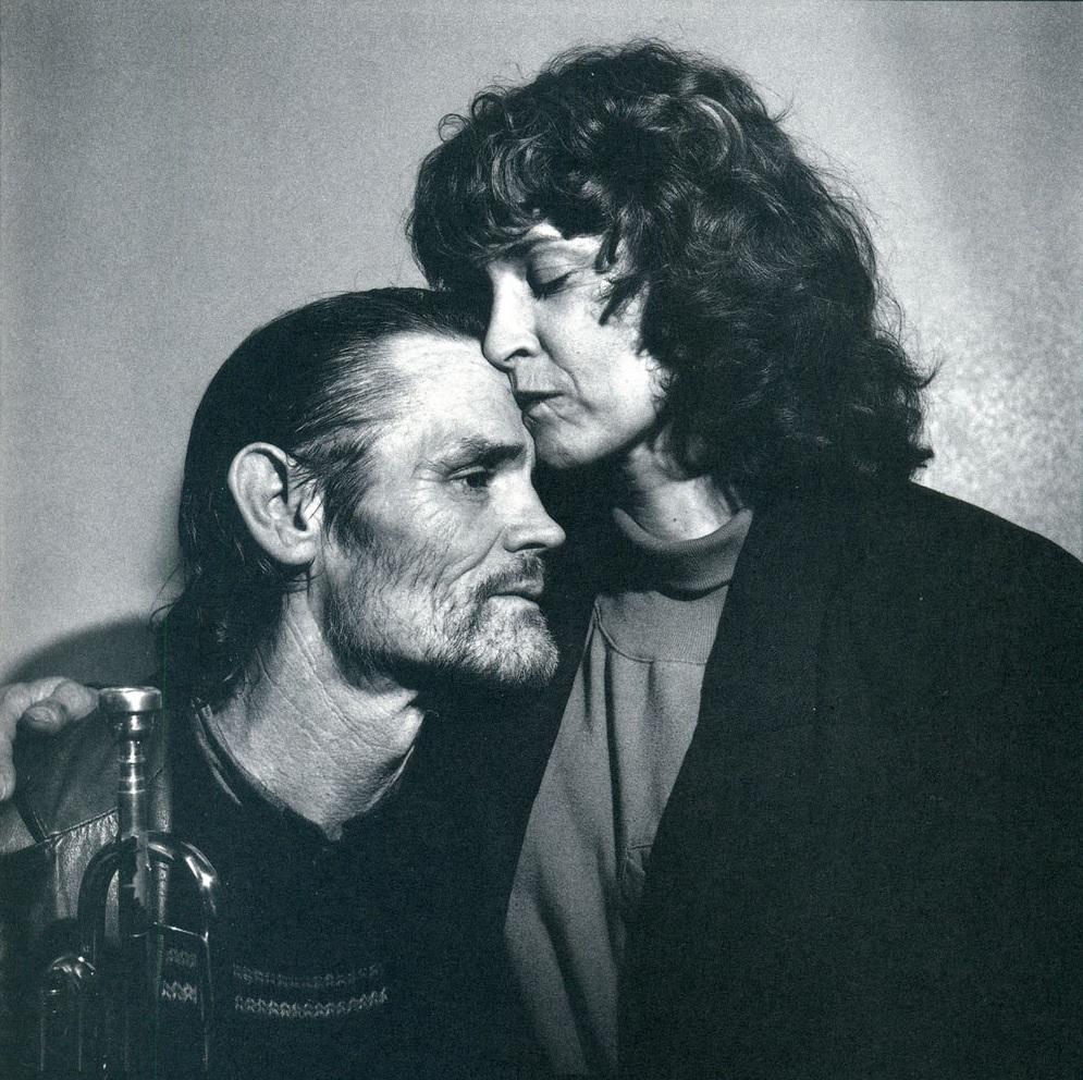 Chet Baker and lover Diane Vavra